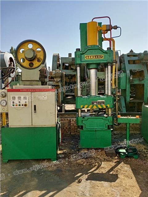 出售15年南通锻压63吨四柱液压机