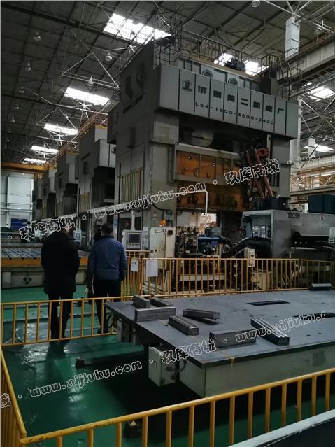 济南二机四点1600吨压力机