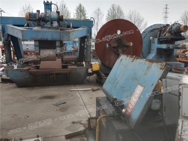 钢板开卷线3﹏12,开卷线收卷机12×2000,开卷线液压互涨紧爪12x2000,一套设备