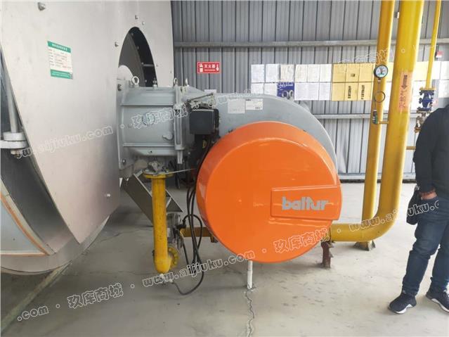 锡能牌10吨燃气蒸气锅炉