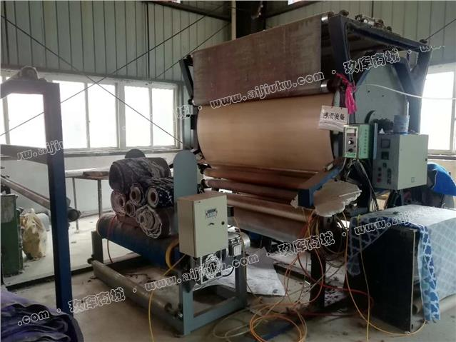 滨江海绵机械厂立式网带胶粘复合机