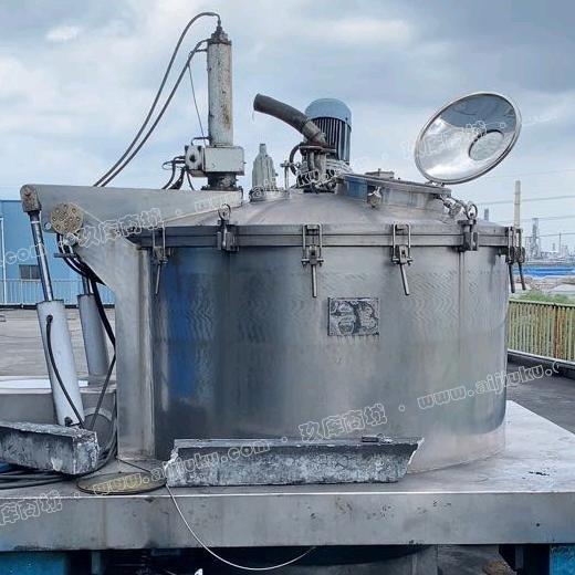 张家港1600型平板刮刀下卸料离心机