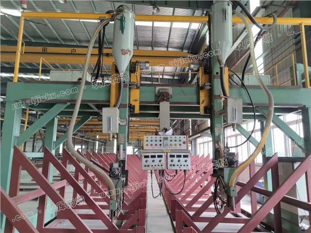 出售二手全套钢构生产线设备