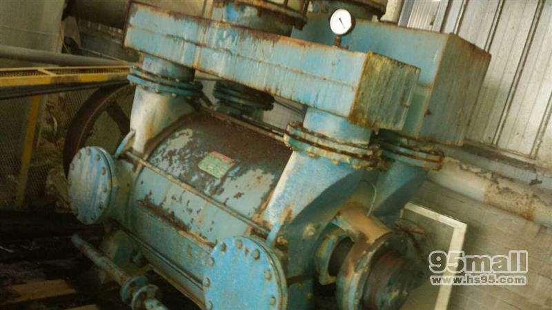 河南低价出售造纸上用的二手真空泵