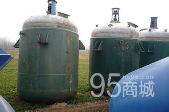 出售二手5吨不锈钢反应釜