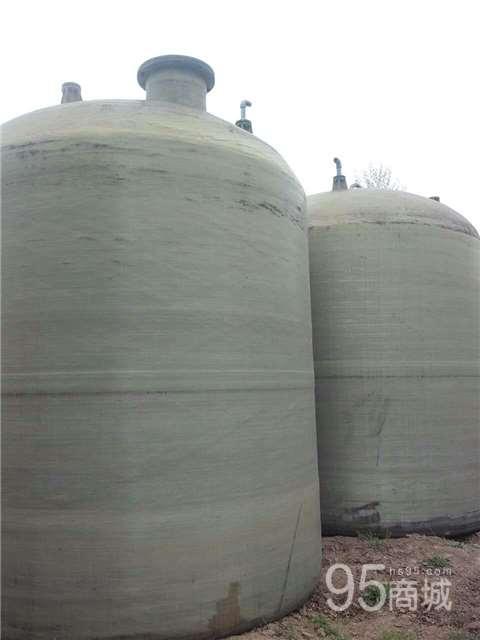 低价处理一批60平方二手玻璃钢储蓄罐