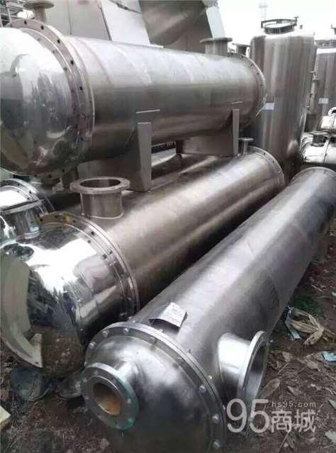 处理316材质  二手不锈钢50平方列管冷凝器