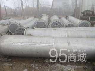 长期供应二手30平方不锈钢冷凝器