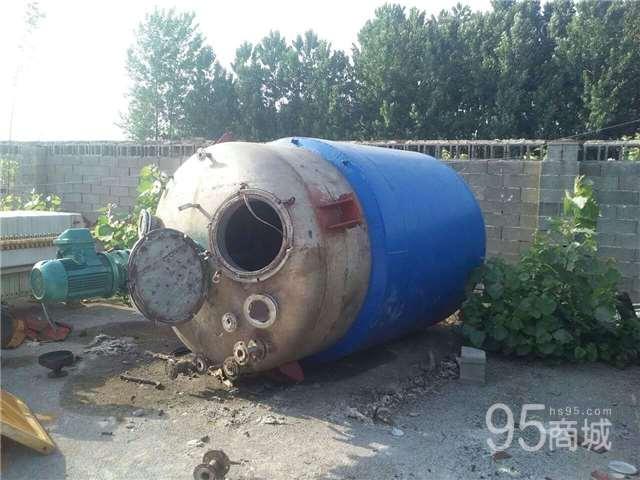 转让5吨电加热内盘管不锈钢反应釜