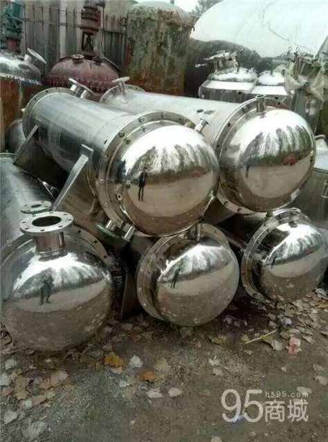 供应二手80平方不锈钢冷凝器