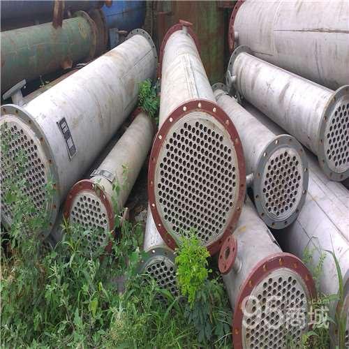 处理二手常熟冷凝器二手不锈钢列管式冷凝器