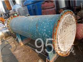 連云港長期銷售二手化工廠設備二手不銹鋼冷凝器換熱器等舊設備