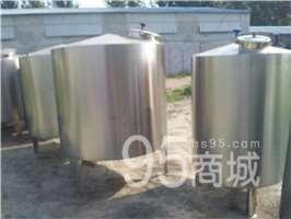 杭州供应二手不锈钢储存罐 搅拌罐