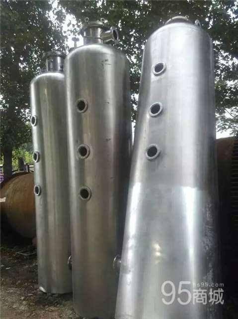 河北出售二手三效浓缩蒸发器3吨外循环蒸发器