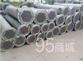 河北二手管式不銹鋼換熱器二手不銹鋼列管冷凝器二手不銹鋼冷凝器