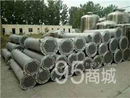 山东富祥常年供应二手不绣钢冷凝器价格便宜 薄膜蒸发器