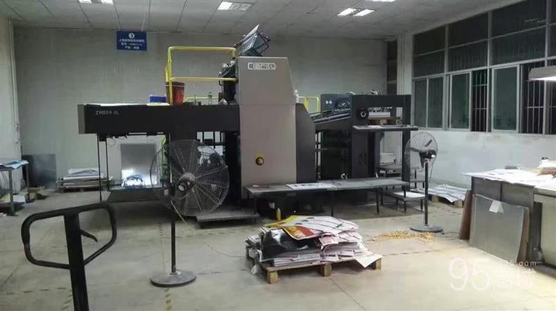 出售12年  上海紫明940双面印刷机  国企单位使用  酒精车