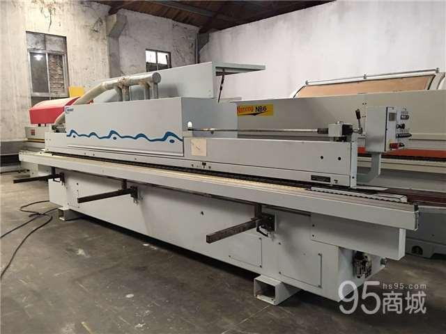 出售二手木工機械二手金田豪邁140全自動封邊機