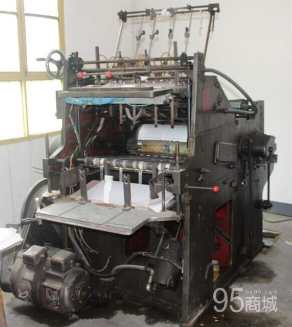 低价处理DT402型四开平台印刷机