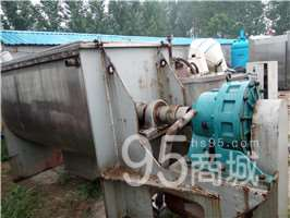 浙江不锈钢螺带式混合机 锥形混合机 压滤机等低价处理