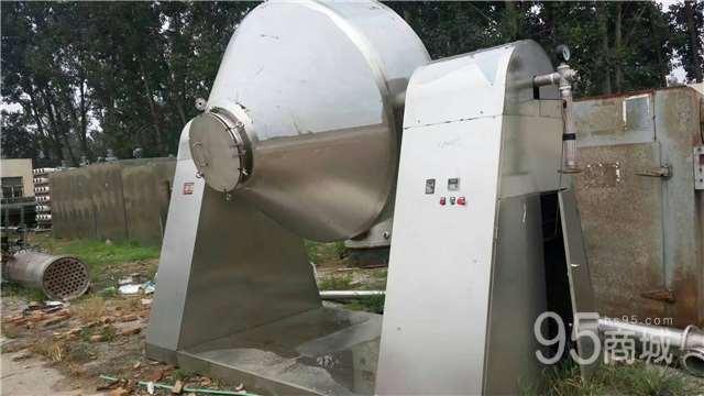 沈阳不锈钢700升双锥干燥机刚上市有需要的抓紧联系 压滤机各两台