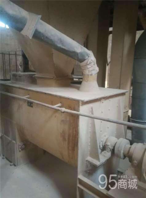二手不锈钢槽型饲料混合机螺带式搅拌混料机二手锥形高速混合机