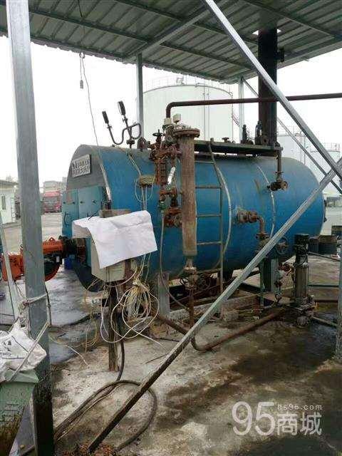 低价处理一吨韩国斯大燃气燃油锅炉