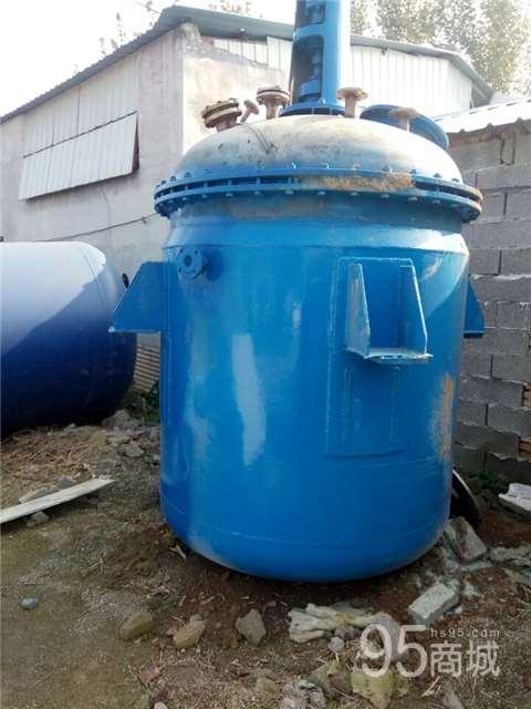 低价出售二手不锈钢反应釜二手5吨电加热不锈钢反应釜二手搪瓷反应釜