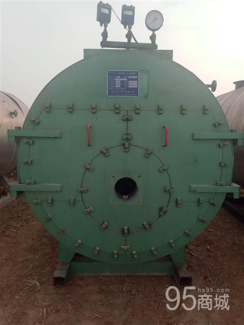 出售二手燃油燃气的两吨蒸汽炉