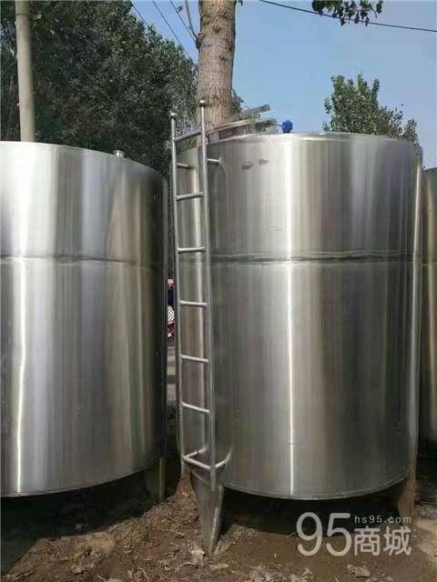 出售全新库存不锈钢储存罐 二手不锈钢储罐