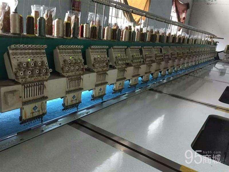 出售923头距320自动剪线,方成牌绣花机