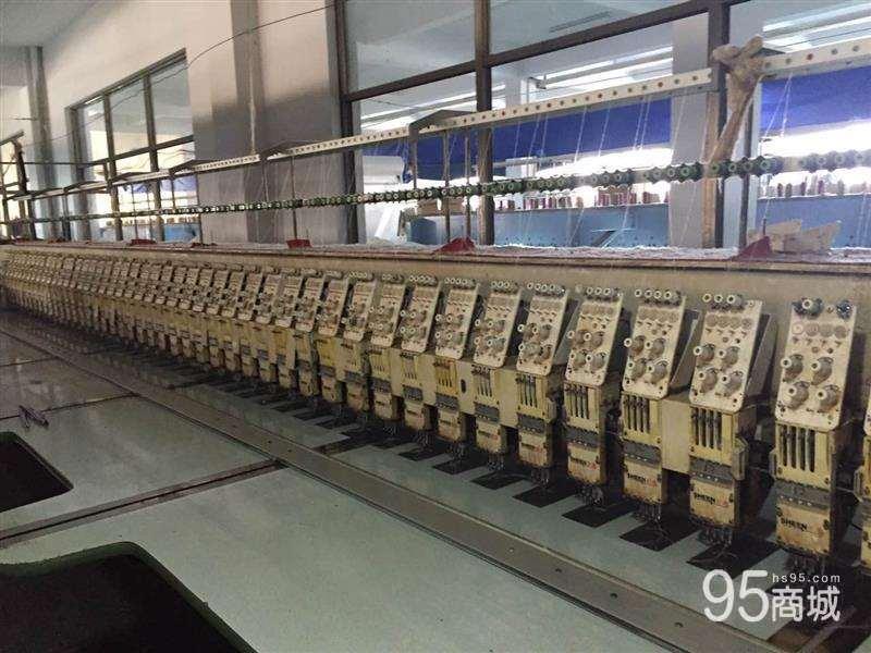 出售2010年浙江56头15公分绣花机