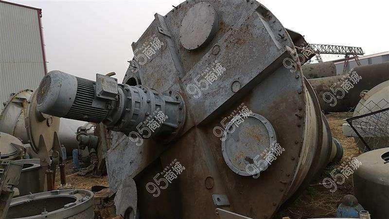 出售上海申银12方双螺旋混料机