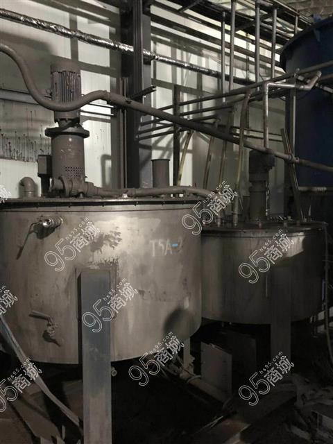 出售14年304材质沧州1-5立方单层搅拌罐