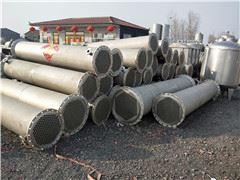 供应10平方不锈钢列管冷凝器