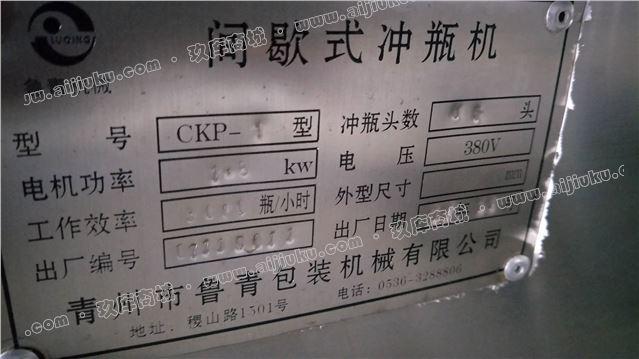 CKP-1间歇式冲瓶机