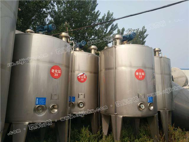 出售15無錫6000升不銹鋼發酵罐