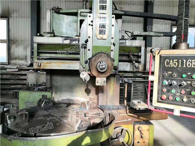 工厂倒闭出售齐重CA5116Ex10-5单柱立式车床
