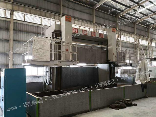 工厂倒闭转让西门子系统武重CD5250E数控立式车床