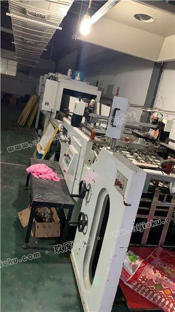 全自动丝网印刷机九成新