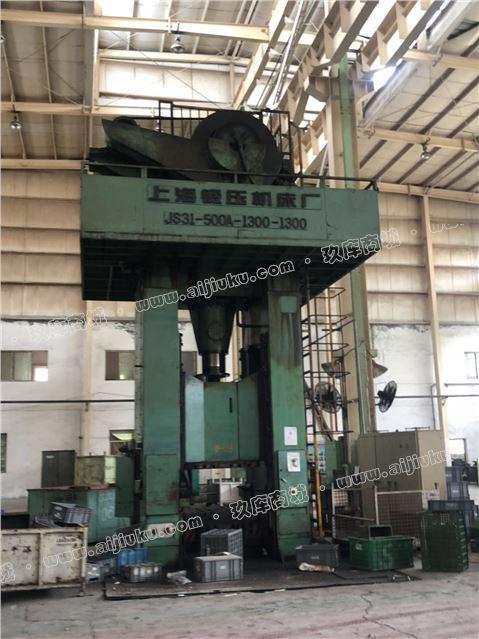 上海500噸閉式單點壓力機