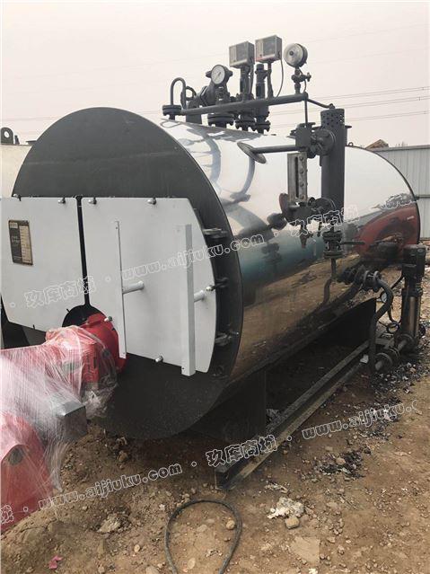 出售2013年1.5吨10公斤燃气蒸汽锅炉