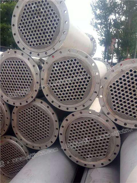 出售二手不锈钢列管冷凝器