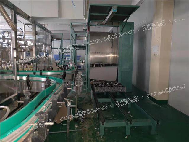 含气易拉罐生产线,产量250罐/分钟