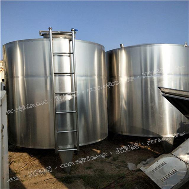 出售二手不锈钢储罐5吨储罐