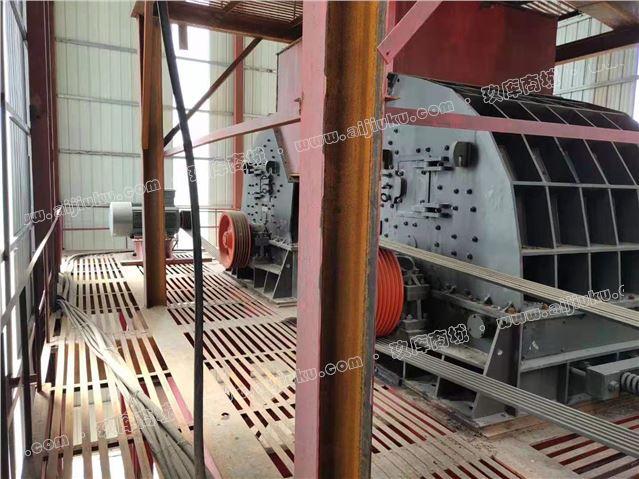 二手日产1万吨砂石料生产线设备低价处理