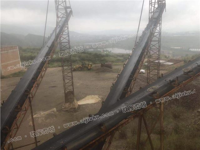 路橋800*1010二手顎式破碎機整套生產線設備