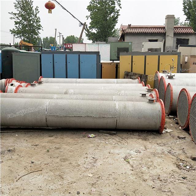 厂家转让一批全新不锈钢10--200平方列管冷凝器