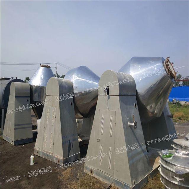 厂家直销二手不锈钢200升双锥干燥机