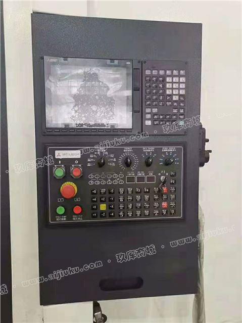 工厂转型出售二手[汉峰V-1370L立式加工中心]二手立加